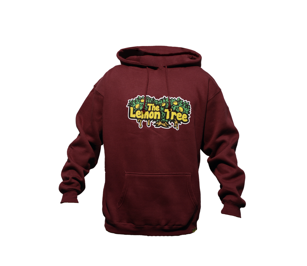 "The Lemon Tree ""Original Hoodie"" - Maroon"