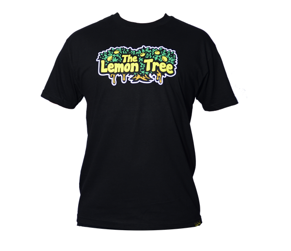 "The Lemon Tree ""Original T-Shirt"" - Black"