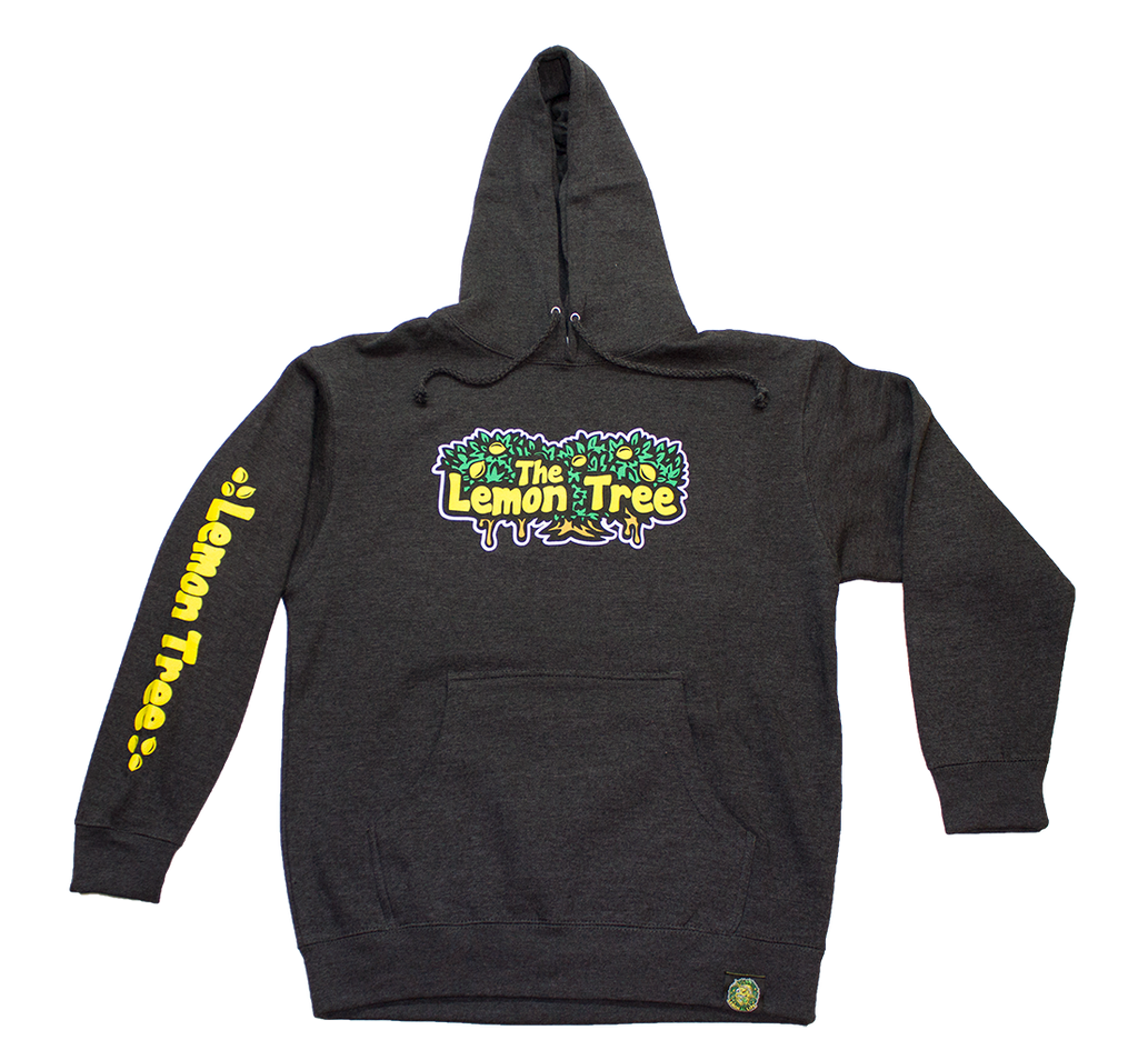 The Lemon Tree Original Pullover Hoodie Charcoal Heather Grey