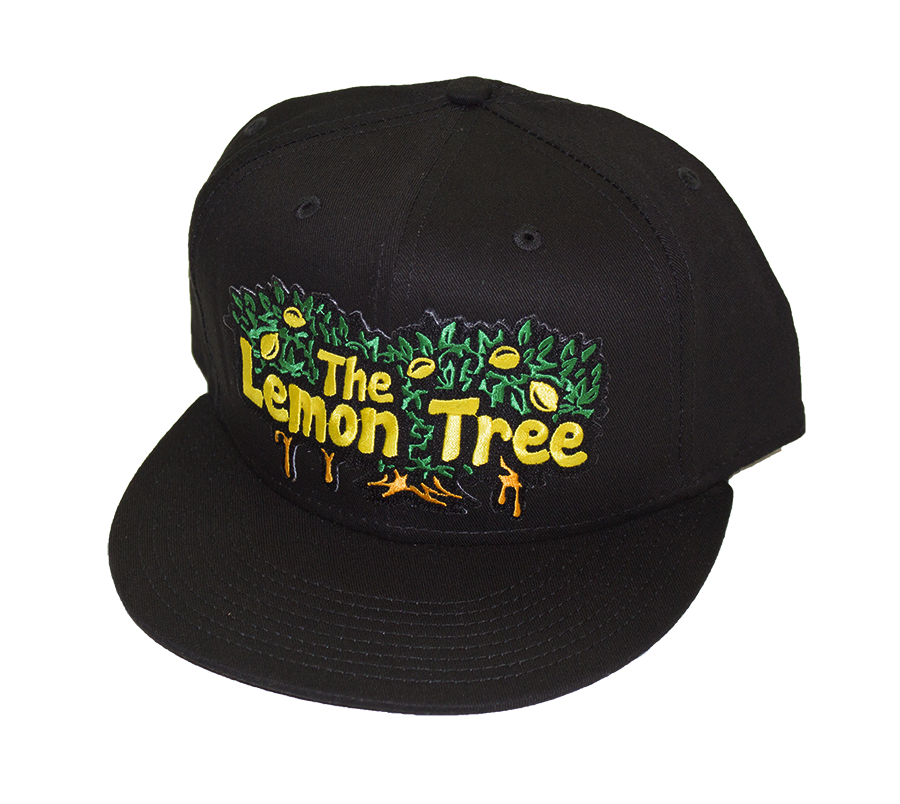 Dripping Tree New Era Snapback All Black - The Lemon Tree