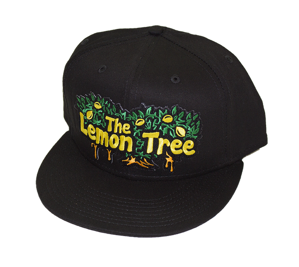 Dripping Tree New Era Snapback All Black