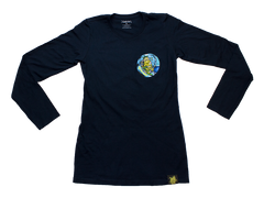 Lemon Tree Surfer Ladies Long Sleeve