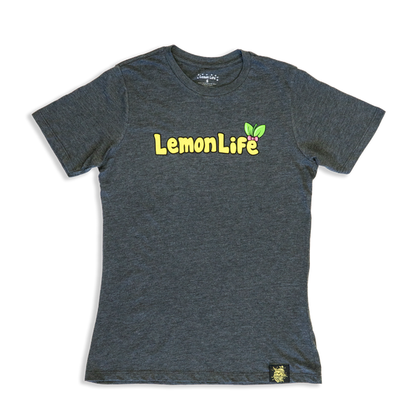 Lemon Bow Ladies T-Shirt