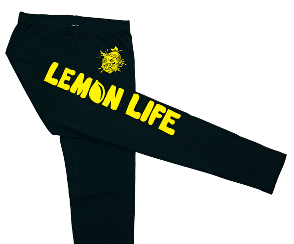 Lemon Life Leggings - The Lemon Tree