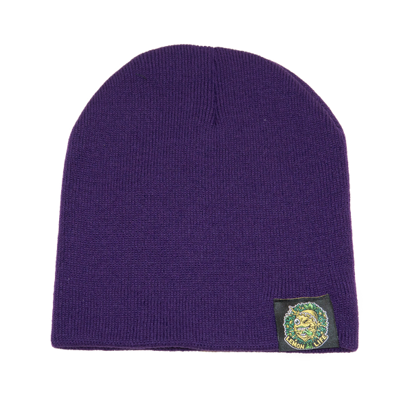 Lemon Life Beanie Purple - The Lemon Tree