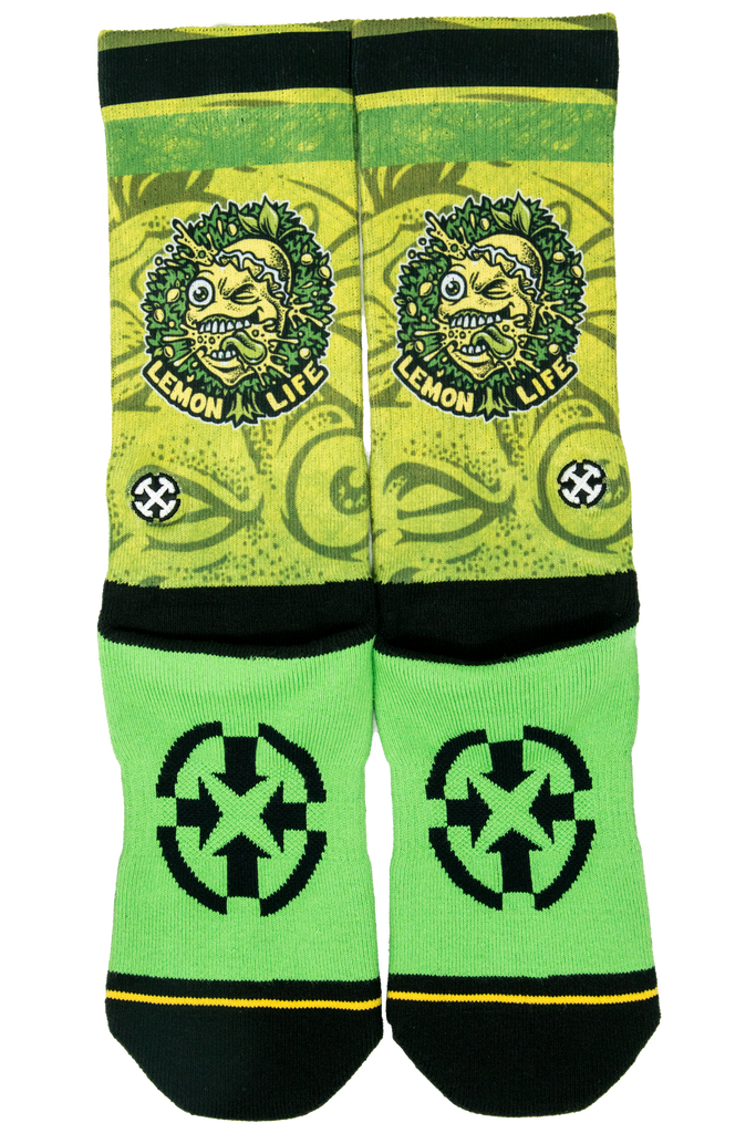 Lemon Life x Merge4 Socks - The Lemon Tree