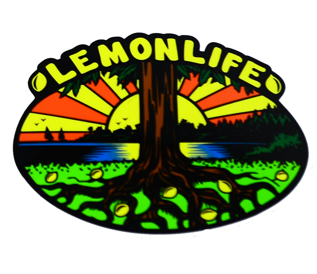 "The ""Lemon Life Tree"" Sticker"
