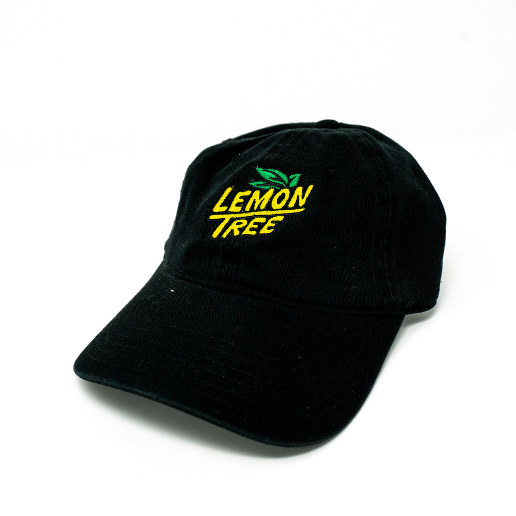 Lemon Tree Logo Dad Hat Black