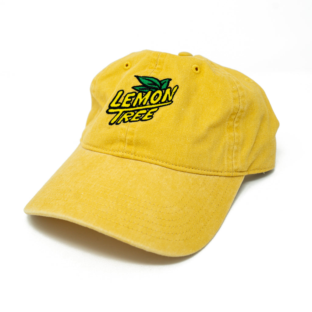Lemon Tree Logo Dad Hat Yellow