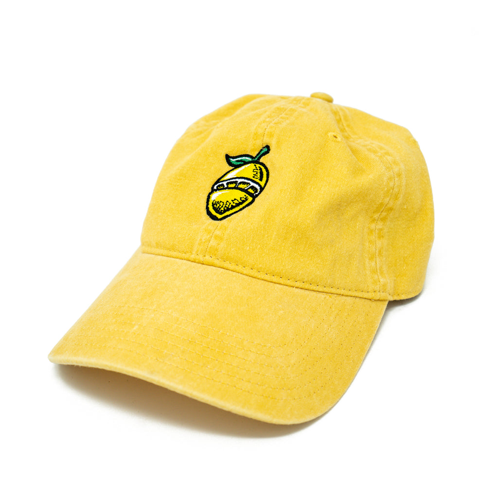Lemon Symbol Dad Hat Yellow