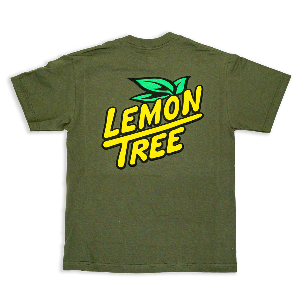 Lemon Tree Logo T-Shirt Olive