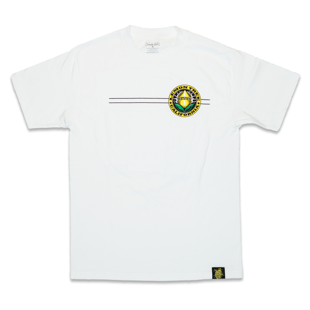 Lemon Tree California Seal White T-Shirt
