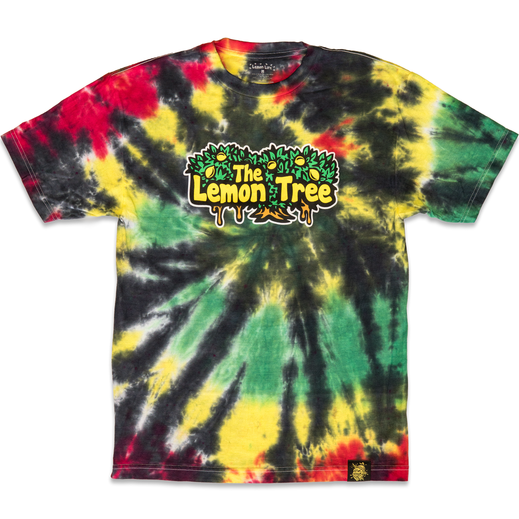 Rasta Tie Dye Lemon Tree T-Shirt