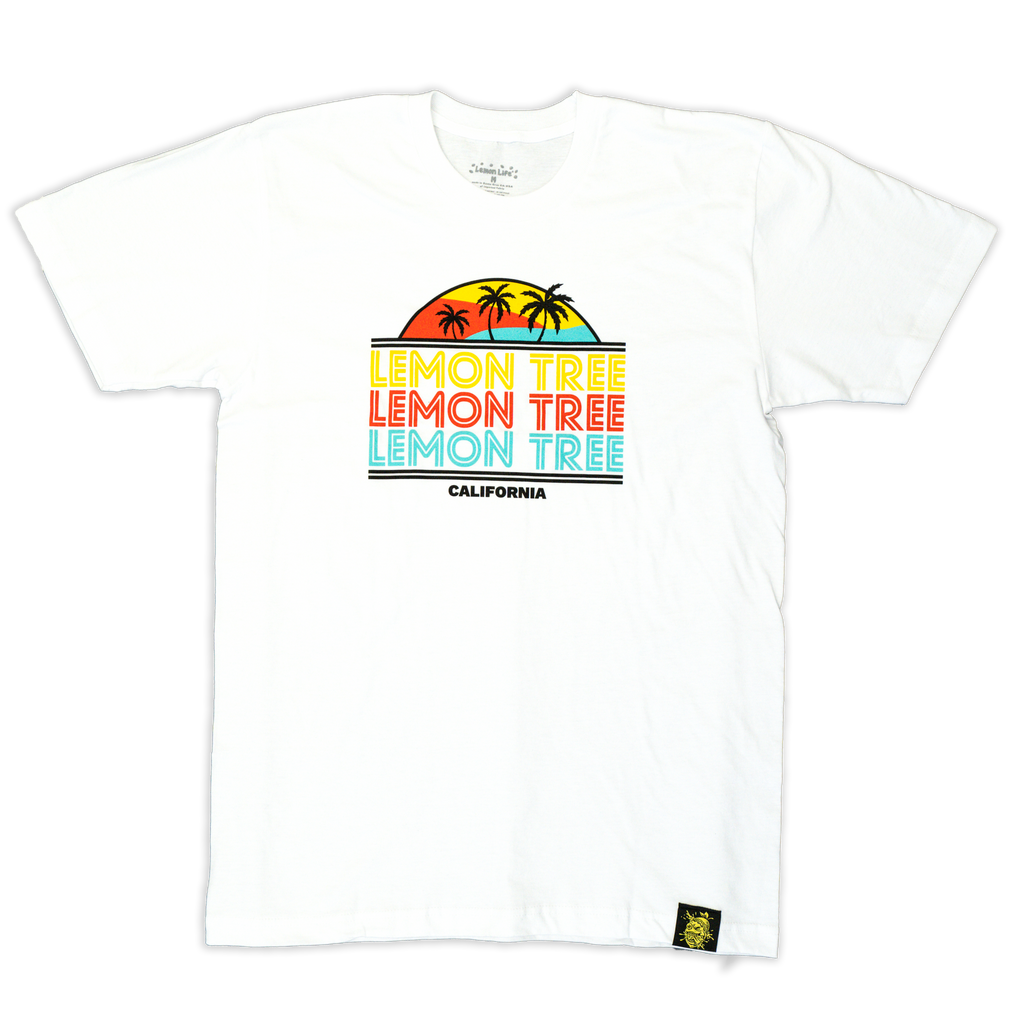 Retro California Lemon Tree T-Shirt