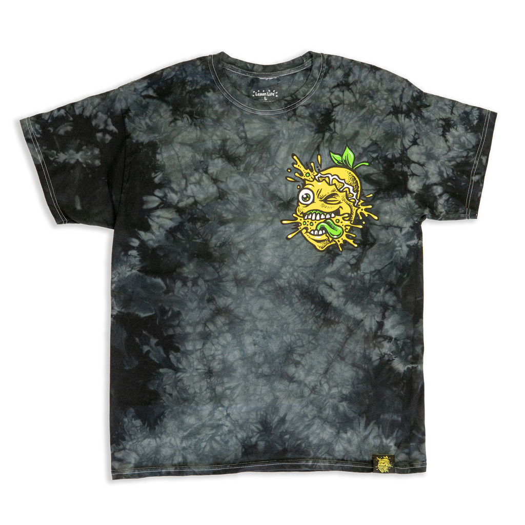 Washed out Lemon Splat T-Shirt
