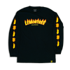 Flaming Lemon Tree Long Sleeve Shirt
