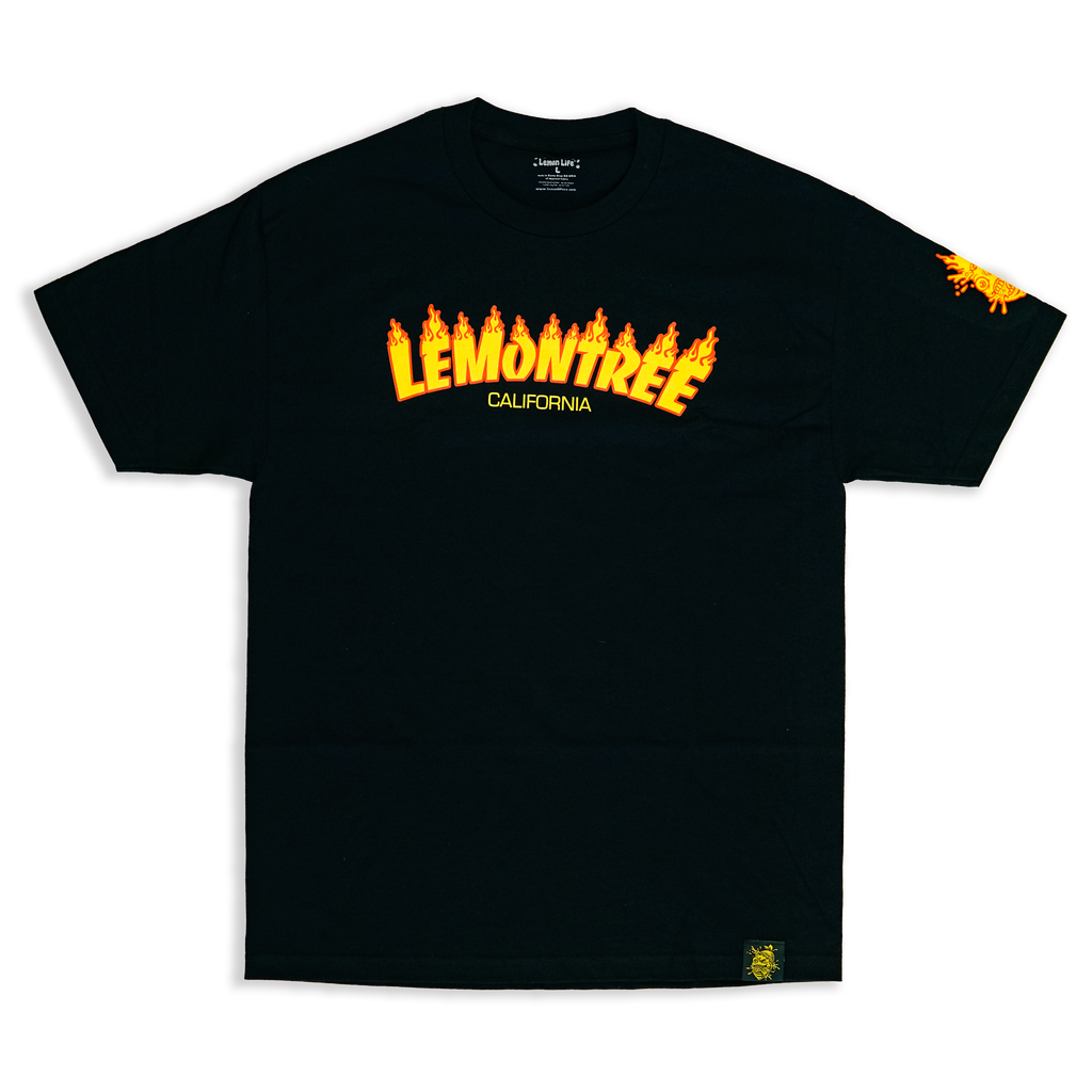 Flaming Lemon Tree Shirt