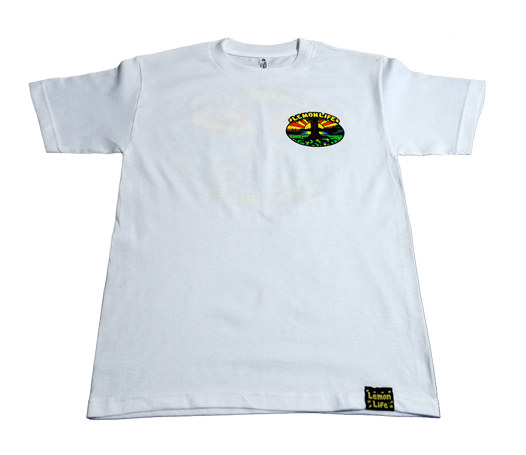 "The ""Lemon Life Tree"" T-Shirt- White"