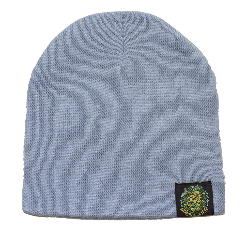 Lemon Life Beanie Blue - The Lemon Tree