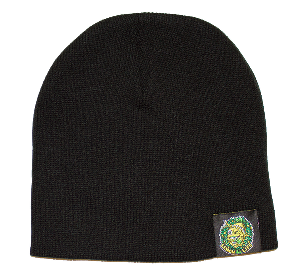 Lemon Life Beanie Black