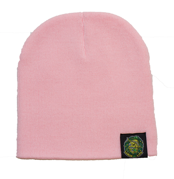 Lemon Life Beanie Pink - The Lemon Tree