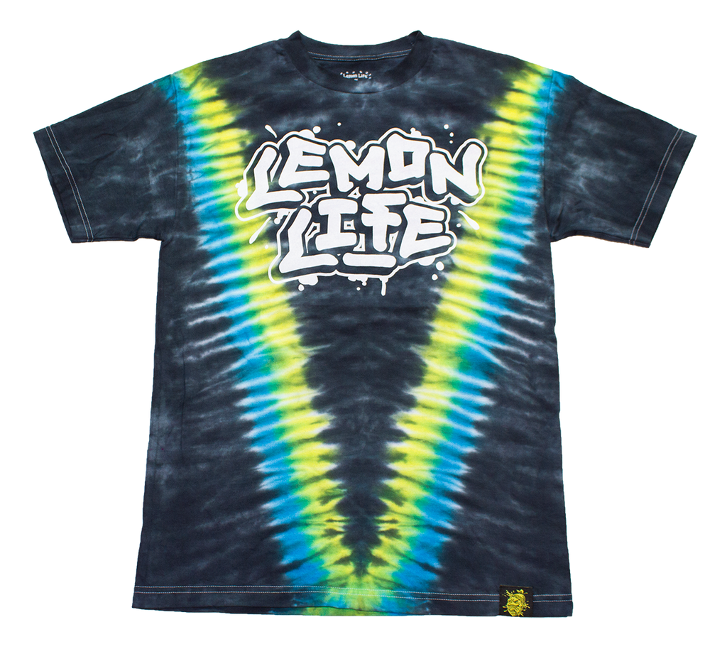 Lemon Life Tag Tie Dye - The Lemon Tree