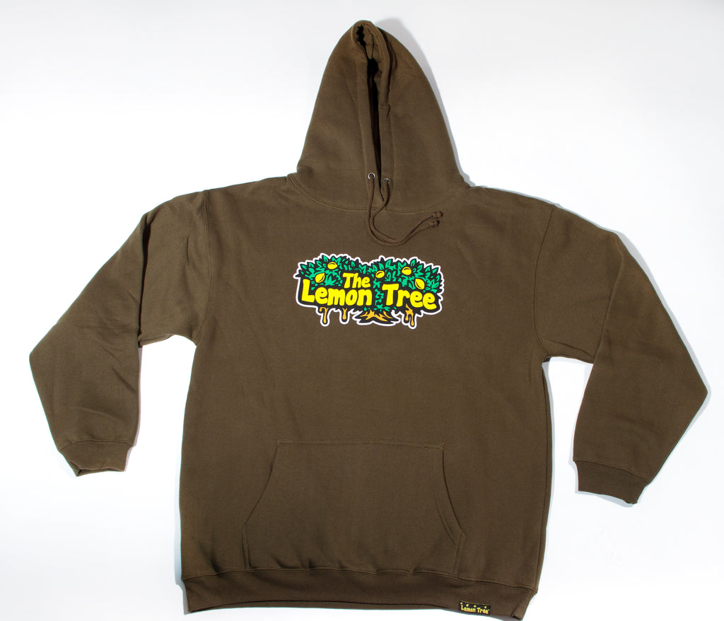 "The Lemon Tree ""Original Hoodie"" - Olive Green"