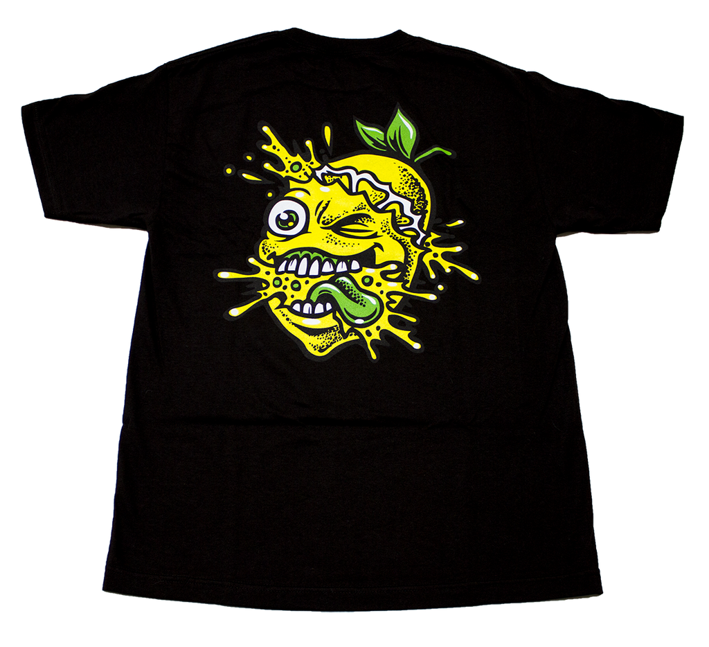 Lemon Tree Color Splat T Shirt