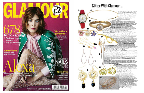 Glamour UK April 2016- Lavender Crush Jewelry