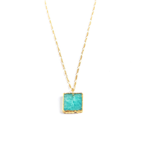 Belize Amazonite Necklace