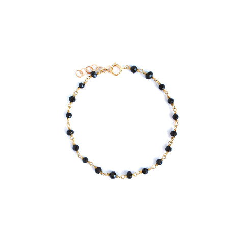 Berkeley Black Spinel Bracelet
