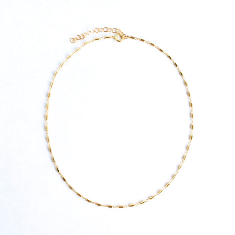 Bianca Mini Bar Necklace