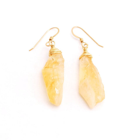 Pisa Citrine Earrings