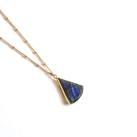 Hana Labradorite Necklace