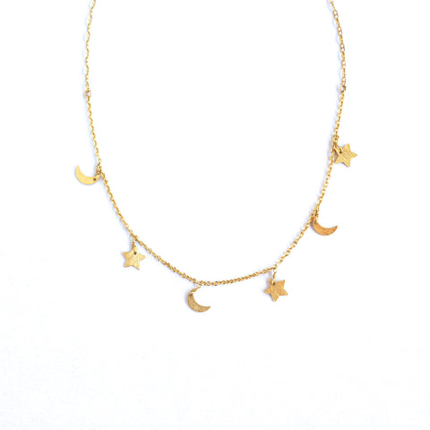 Kaylee Celestial Necklace