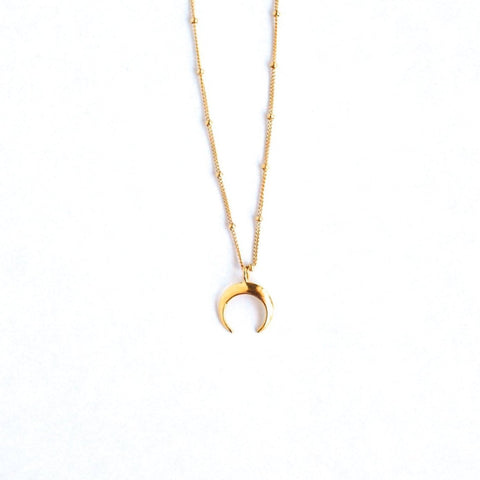 Lucia Crescent Necklace