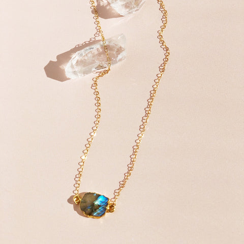 Malibu Labradorite Necklace