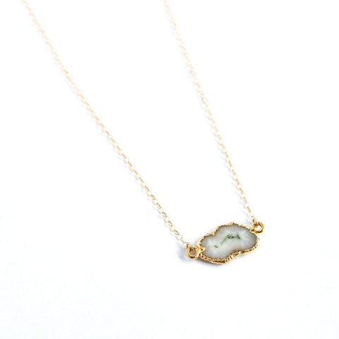 Malibu Solar Quartz Necklace