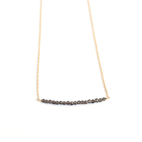 Naples Smoky Quartz Necklace