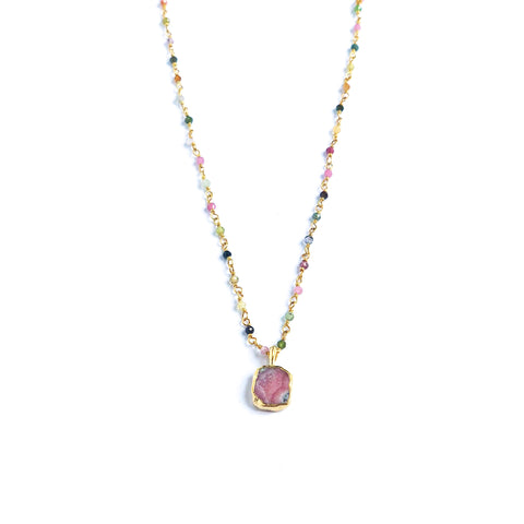 Pescadero Rhodochrosite Necklace