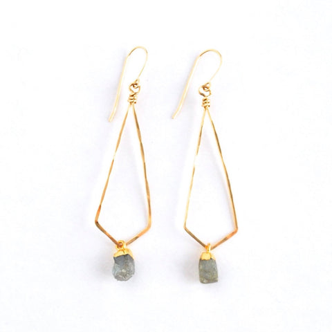 Siena Labradorite Earrings