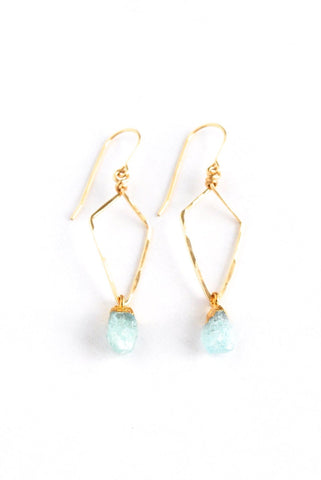 Turin Aquamarine Earrings