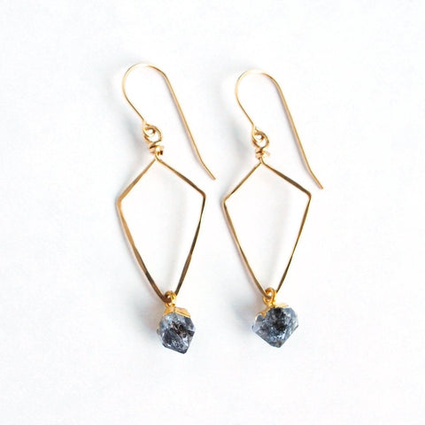 Turin Herkimer Diamond Earrings