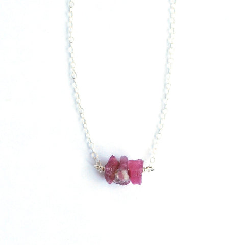 Ventura Pink Tourmaline Necklace