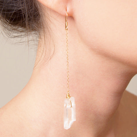 Zurich Crystal Quartz Earrings