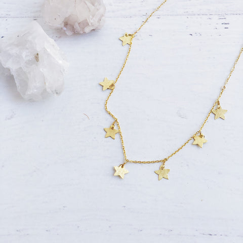 Kaylee Stars Necklace