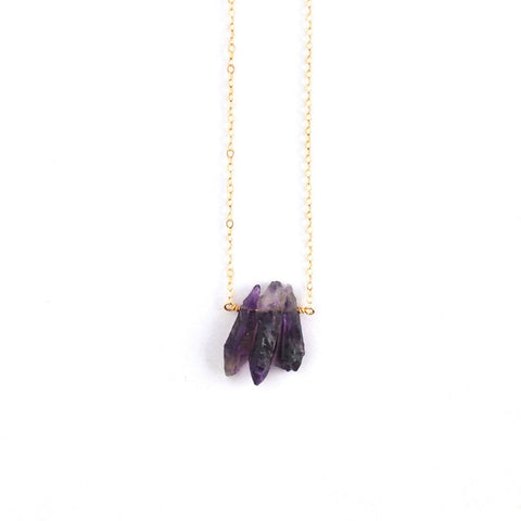 Ventura Amethyst Necklace