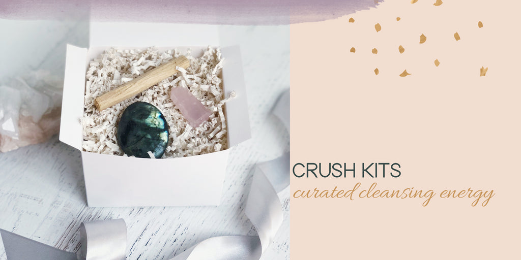 Cleansing Crystal Gift Sets Gifts Under $25 with Healing Crystal Energy