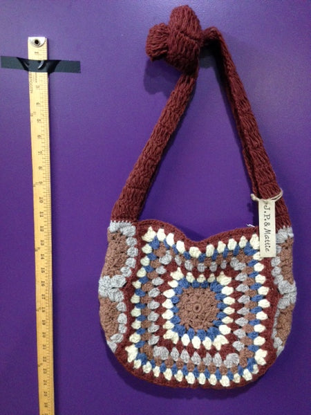 Jamie - A - Hand Crochet Cross Body Bag