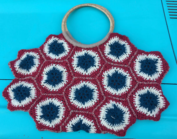 Jacqueline - B - Hand Crocheted Bag